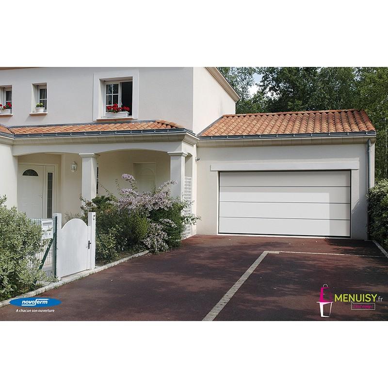 Porte de garage sectionnelle novoferm ISO 45 motorisée